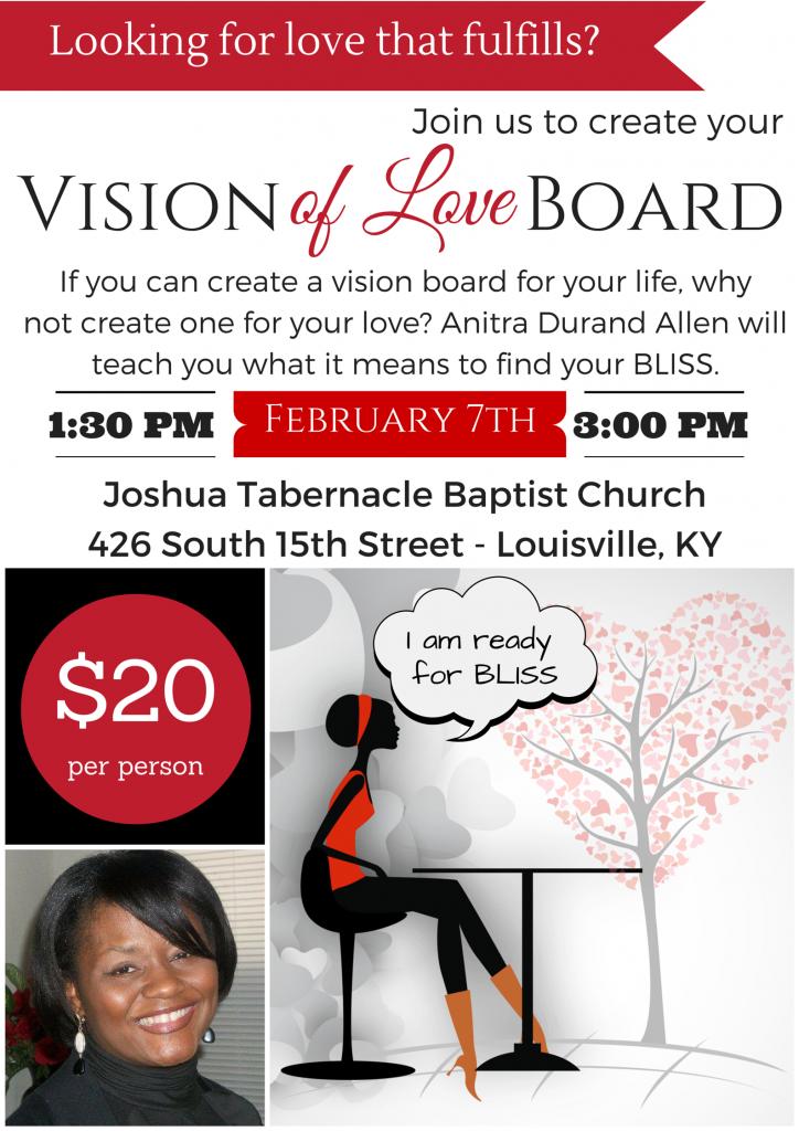 Singles-Vision-Board-Event