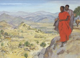 Jesus is tempted - Matthew 4:1-11